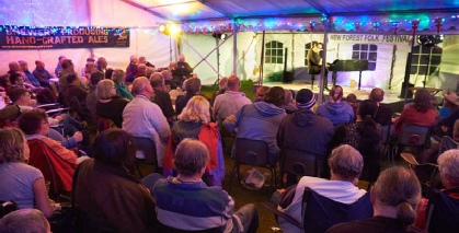 About the New Forest Folk Festival